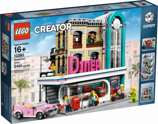 LEGO Creator Expert 10260 Downtown Diner