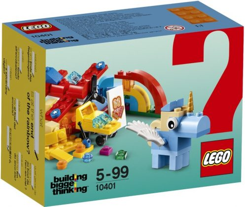 LEGO Building Bigger Thinking 10401 Rainbow Fun