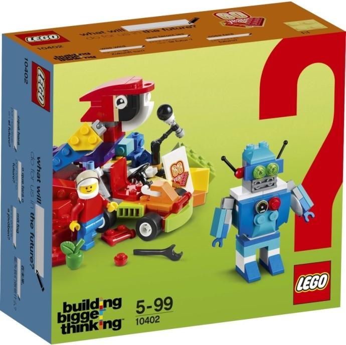 LEGO Building Bigger Thinking 10402 Fun Future