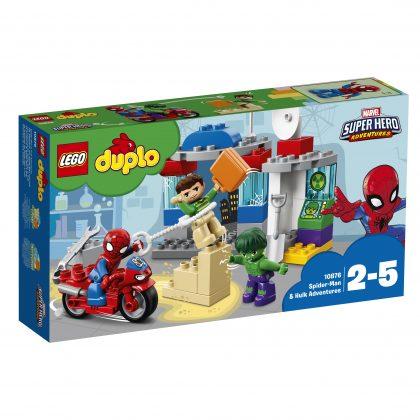 LEGO Duplo10876 Spider-Man & Hulk Adventures