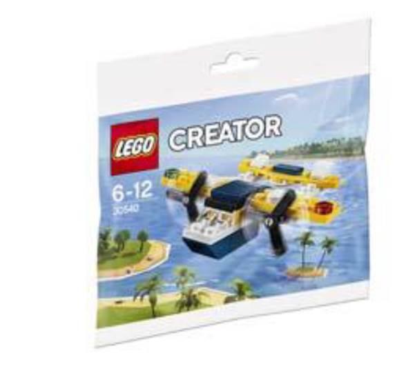 LEGO Creator 30540 Yellow Flyer