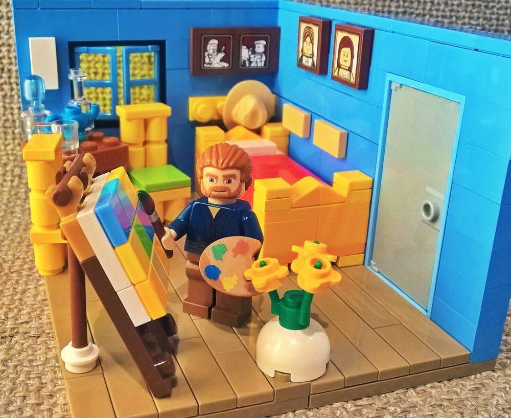 Uitgelicht: LEGO Ideas Vincent van Gogh - Bouwsteentjes.info