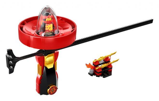 LEGO Ninjago70633 Kai Spinjitzu Master