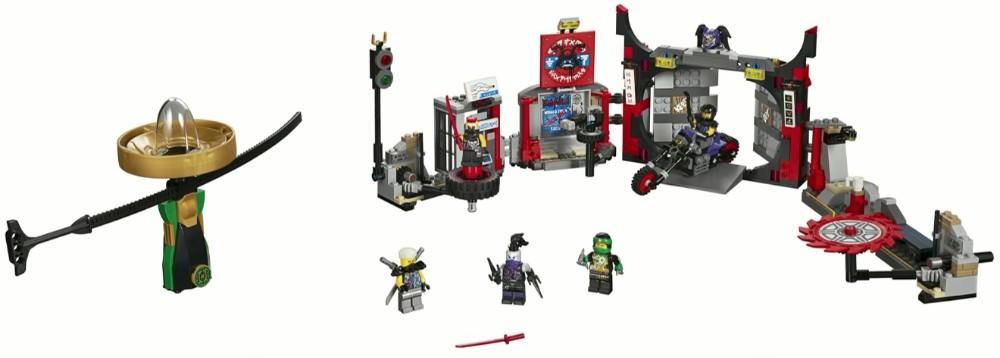 LEGO Ninjago 70640 Sons of Garmadon Underground