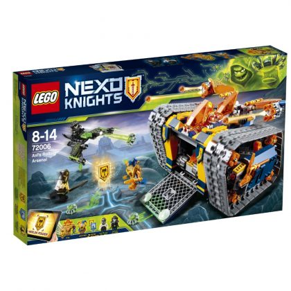 LEGO Nexo Knights 72006 Axel's Rolling Arsenal