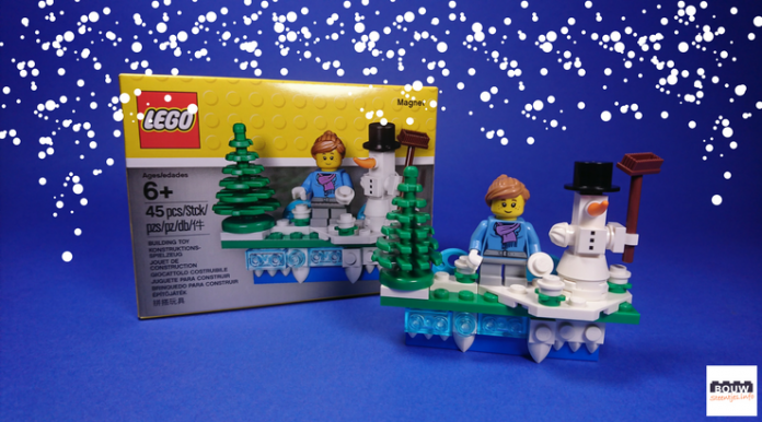 LEGO 853663 Iconic Holiday Magnet