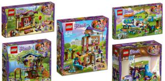 LEGO Friends winter 2018 sets