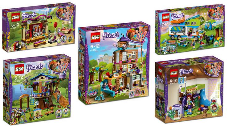 LEGO Friends winter 2018 sets - Bouwsteentjes.info