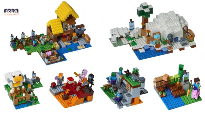 LEGO Minecraft winter 2018