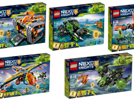 LEGO Nexo Knights Winter 2018