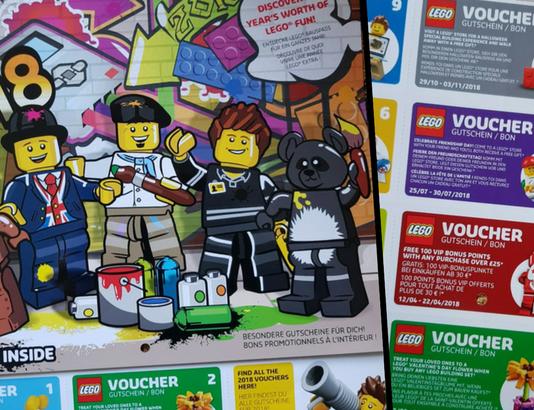 LEGO muurkalender 2018