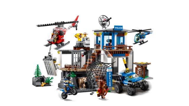 LEGO City60174 Mountain Police Headquarters