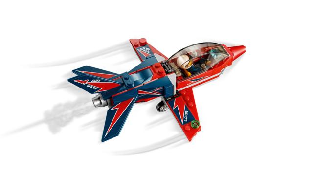 LEGO City60177 Airshow Jet
