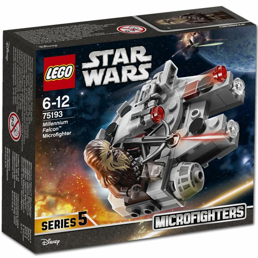 LEGO Star Wars 75193 Millennium Falcon Microfighter