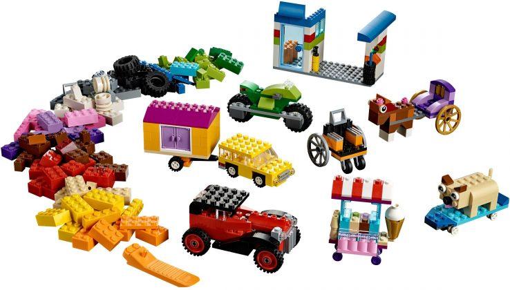 LEGO Classic10715 Bricks on a Roll