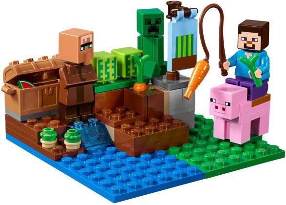 LEGO Minecraft 21138 The Melon Farm
