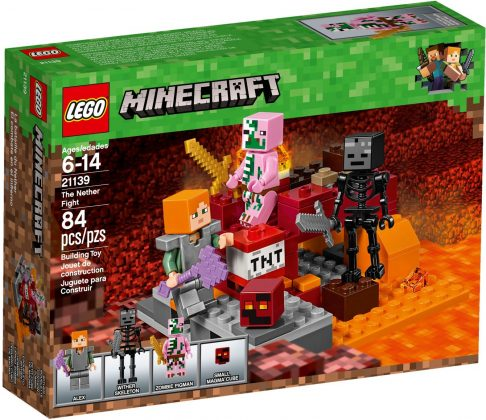LEGO Minecraft 21139 The Nether Fight