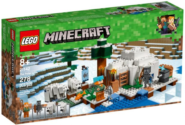 LEGO Minecraft 21142 The Polar Iglo