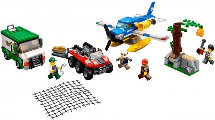 LEGO City 60175 Mountain River Heist