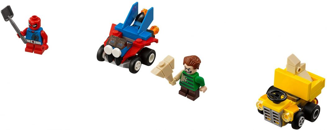 LEGO Mighty Micros 76089 Spider-Man vs Sandman