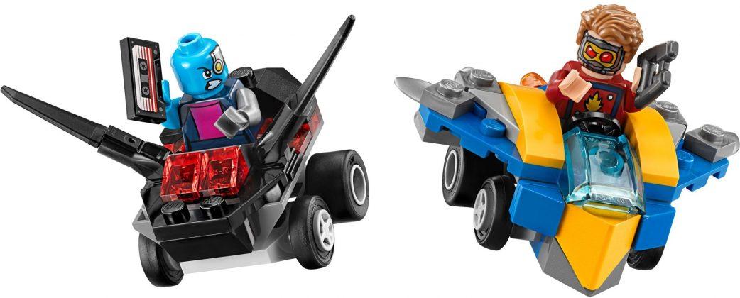 LEGO Mighty Micros 76090 Star Lord vs Nebula