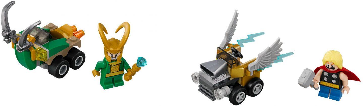 LEGO Mighty Micros 76091 Thor vs Loki