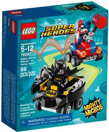 LEGO Mighty Micros 76092 Batman vs Harley Quinn
