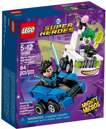 LEGO Mighty Micros 76093 Nightwing vs The Joker