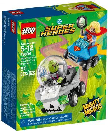 LEGO Mighty Micros 76094 Supergirl vs Brainiac
