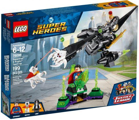 LEGO DC Comics 76096 Superman Krypto Team-Up