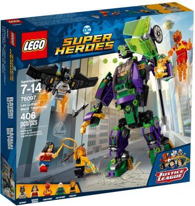 LEGO DC Comics 76097 Lex Luther Mech Takedown