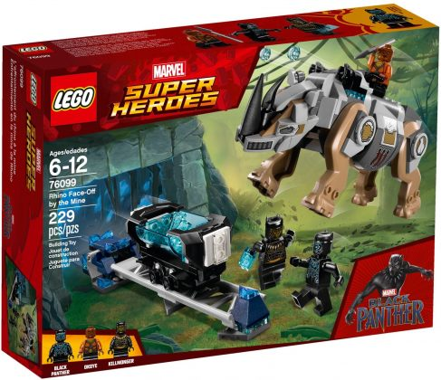 LEGO Marvel 76099 Rhino Face-Off by the Mine