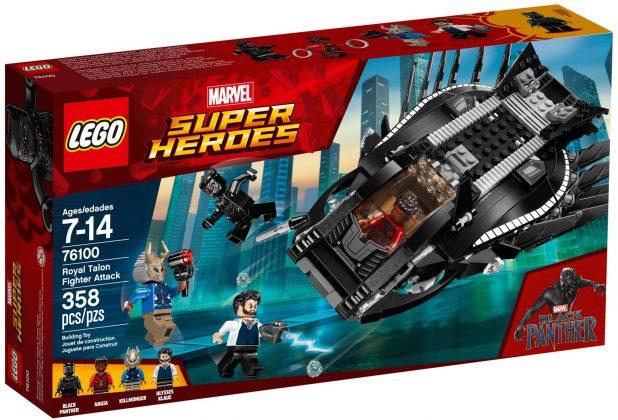 LEGO Marvel 76100Royal Talon Fighter Attack