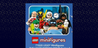 LEGO 71020 Batman Movie Collectible Minifigures series 2