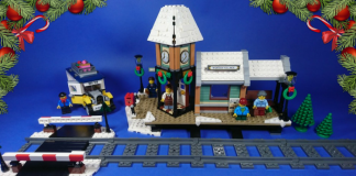 LEGO Creator Expert 10259 Winter Village Station review