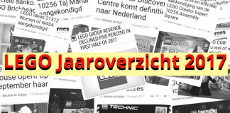 LEGO Jaaroverzicht 2017