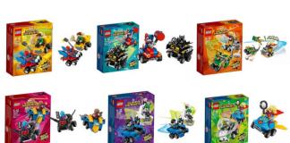 LEGO Mighty Micros winter 2018 visuals