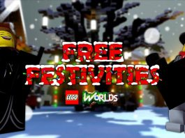 LEGO Worlds Festivities update