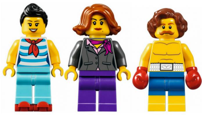 LEGO verklaart keuze gedetailleerde gezichten in Downtown Diner
