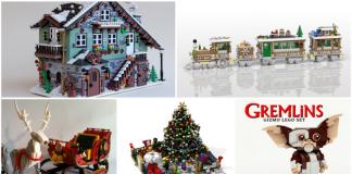 Top 10 LEGO Ideas kerst inzendingen