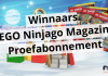 Winnaars LEGO Ninjago Magazine proefabonnement