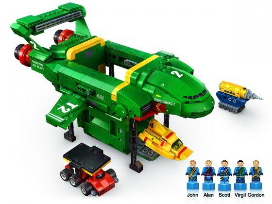 LEGO Ideas Thunderbirds Are Go