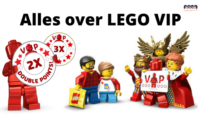 Alles over LEGO VIP - Bouwsteentjes.info