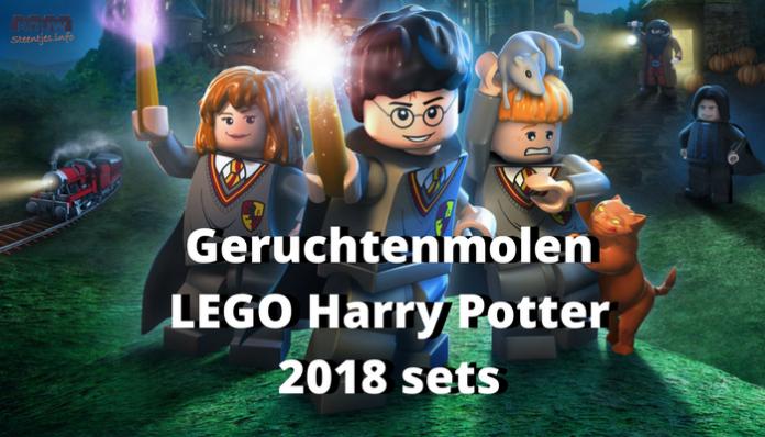 Geruchtenmolen LEGO Harry Potter 2018 sets