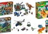 HD visuals LEGO Jurassic World Fallen Kingdom sets