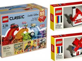 LEGO 60th Anniversary sets