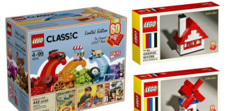 LEGO 60th Anniversary sets