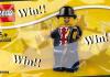 Win een exclusieve LEGO Lester Polybag