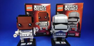LEGO BrickHeadz 41485 Finn - LEGO BrickHeadz 41486 Captain Phasma