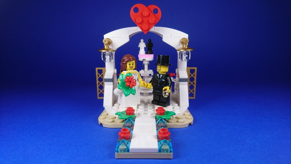 LEGO 40197 Wedding Favor Set 2018